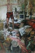 2007, coming home, 120x80cm