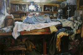2007, the bed, 80x120cm, gineke zikken