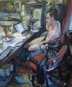 2008-08-07, appointments, 120x100cm
