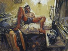 2008-10, in a hotelroom, 90x120cm