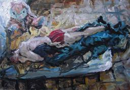 2009, kirill crashed, 100x145cm