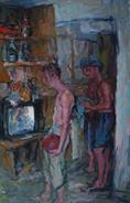 2011-07-03, holidays in the sun, 170x110cm
