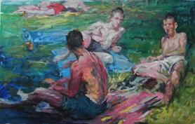 2011-08-03, lazy painting, 90x140cm