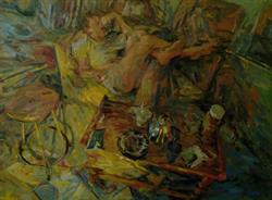 2011-12-19, 'an evening with me', 110x150cm