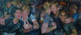 2012-03-11, the party, 60x160cm
