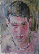 2012-04-07, same guy, another sketch, 60x40cm