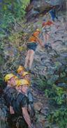 2012-05-15, climb every mountain, 270x140cm