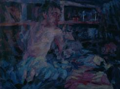 2012-12-18, night-scene, 70x100cm