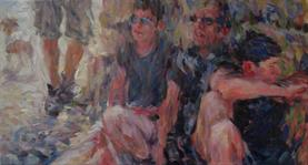 2013-06-18, best friends on a journey, 60x110cm