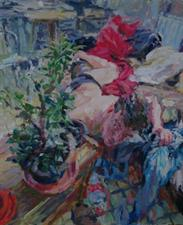 2013-07-27, the sleepover-party, 110x90cm