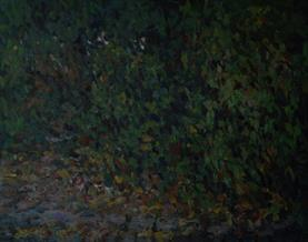 2013-12-02, adventures on a pavement in half-light, 150x190cm