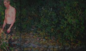 2014-03-15, When Autumn follows Spring (almost like an update), 150x260cm